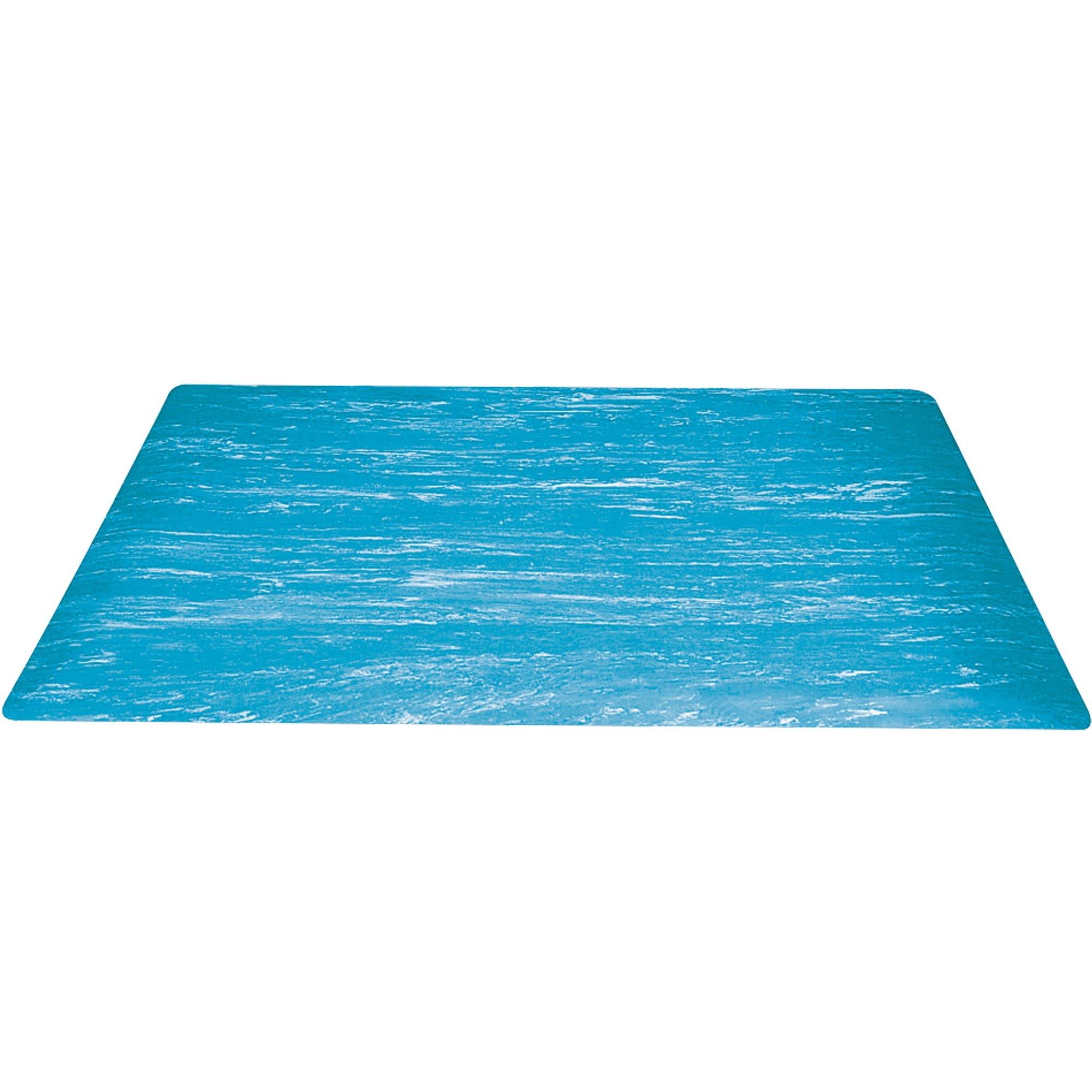 18 x 30'' Blue Marble Anti-Fatigue Mat