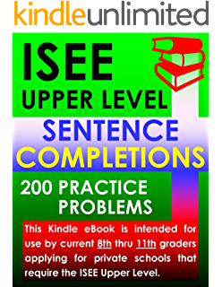Amazon isee upper level mathematics 360 practice problems isee upper level sentence completions 200 practice problems fandeluxe Image collections