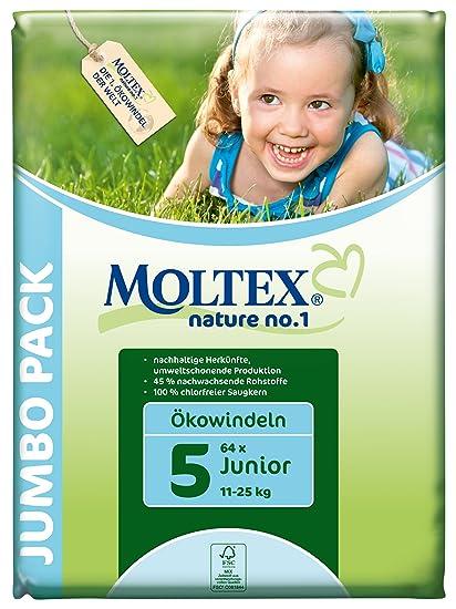 Moltex - Junior - Pañales - Talla 5 (11-25 kg) - 64