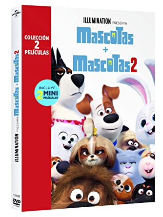 Pack: Mascotas 1+2 [DVD]: Amazon.es: Patton Oswalt, Kevin Hart ...