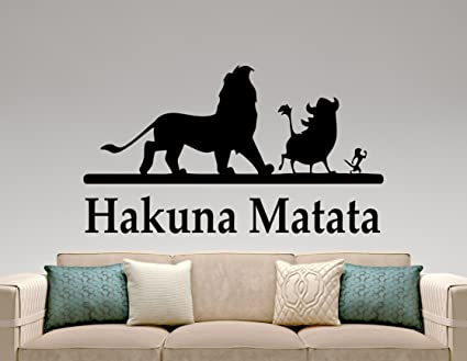 The Lion King Wall Sticker Vinyl Decal Movie Home