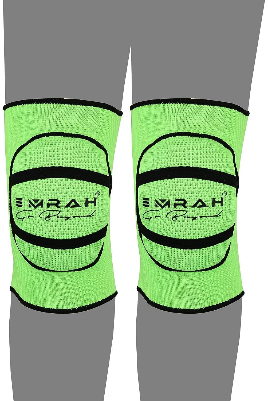 EMRAH Genouill/ères avec rembourrage en mousse robuste et coussin en gel confortable