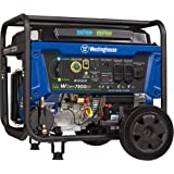 Westinghouse WGen7500DF Dual Fuel Portable Generator 7500 Rated & 9500 Peak Watts, Gas or Propane Powered, Electric…