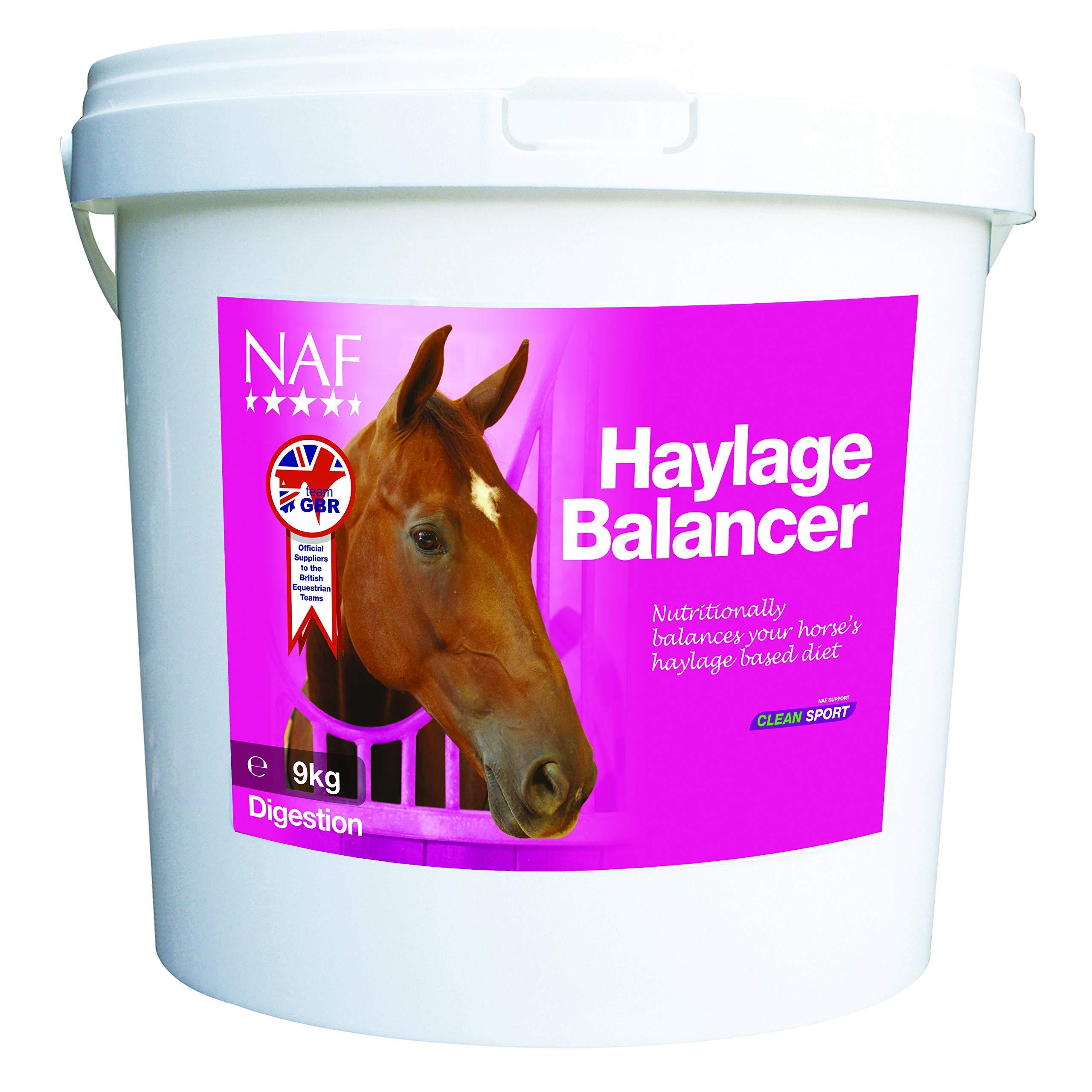 NAF Haylage Balancer Digestion Supplement 9kg Clear by NAF NAF