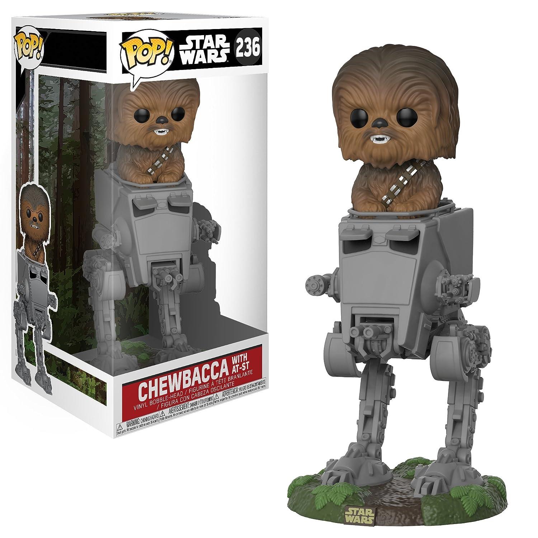 AT-ST w//Chewbacca, 27023 Star Wars Standard Pop Deluxe Funko