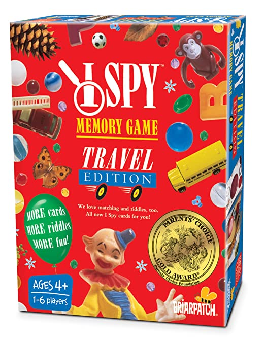 Amazon.com: I Spy Memory Travel Game: Toys & Games
