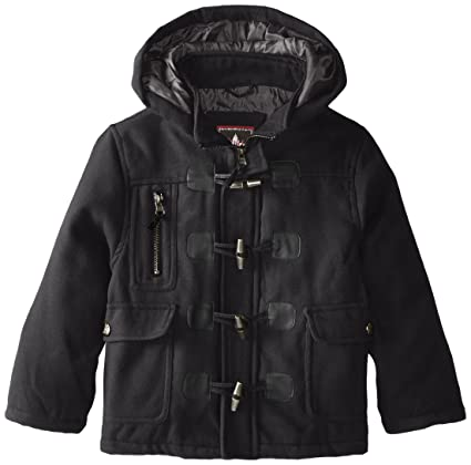 fcce34807 Amazon.com  YMI Boys  Hooded Toggle Button Wool Coat  Clothing