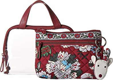 Vera Bradley Women s Tech Accessories Gift Set Bordeaux Blooms One Size 29e9f2b31794c
