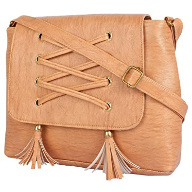 Beets Collection Women s PU Sling Bag Side Bag For Girls Women (Peach)  Colour  Amazon.in  Shoes   Handbags 534cdd28aeac9