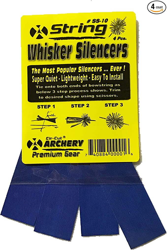SPIDER LEGS BOW STRING SILENCERS CAT WHISKER COLORS THE ORIGINAL LIGHTWEIGHT