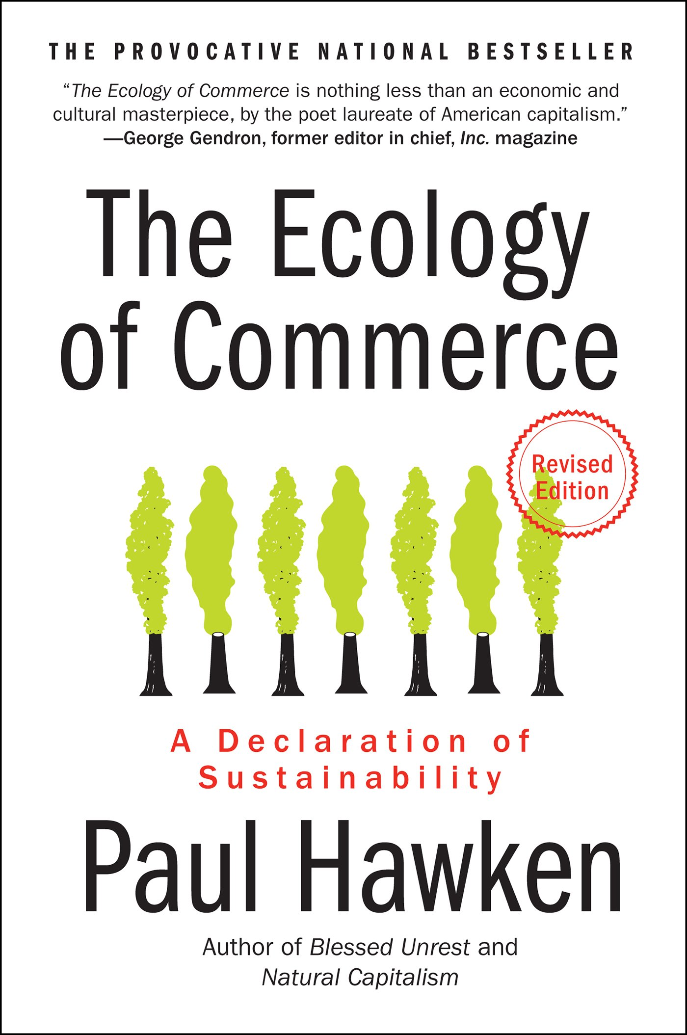 The Ecology Of Commerce Revised Edition  A Declaration Of Sustainability  Collins Business Essentials   English Edition