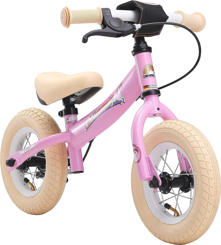 BIKESTAR Bicicleta sin Pedales para niños y niñas   Bici 10 Pulgadas a Partir de 2-3 años con Freno   10