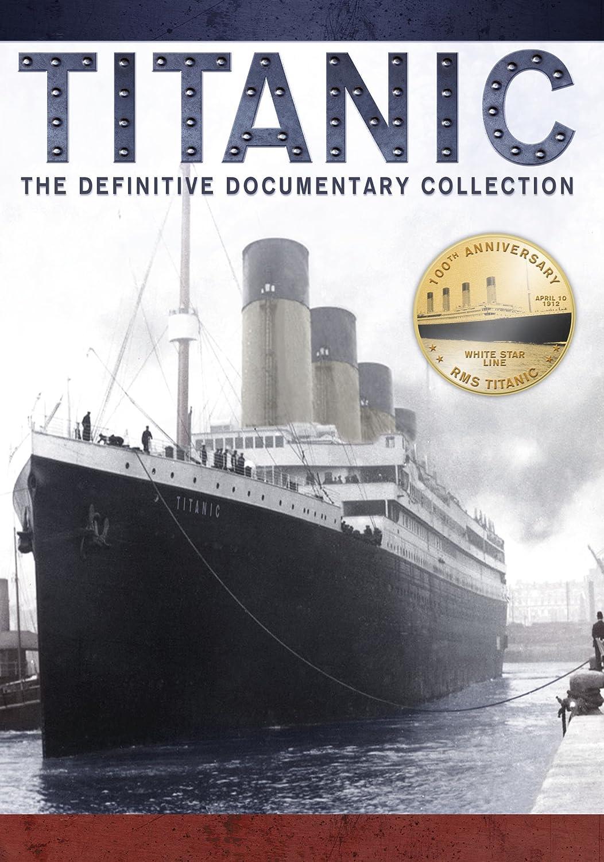 amazon com titanic the definitive documentary collection