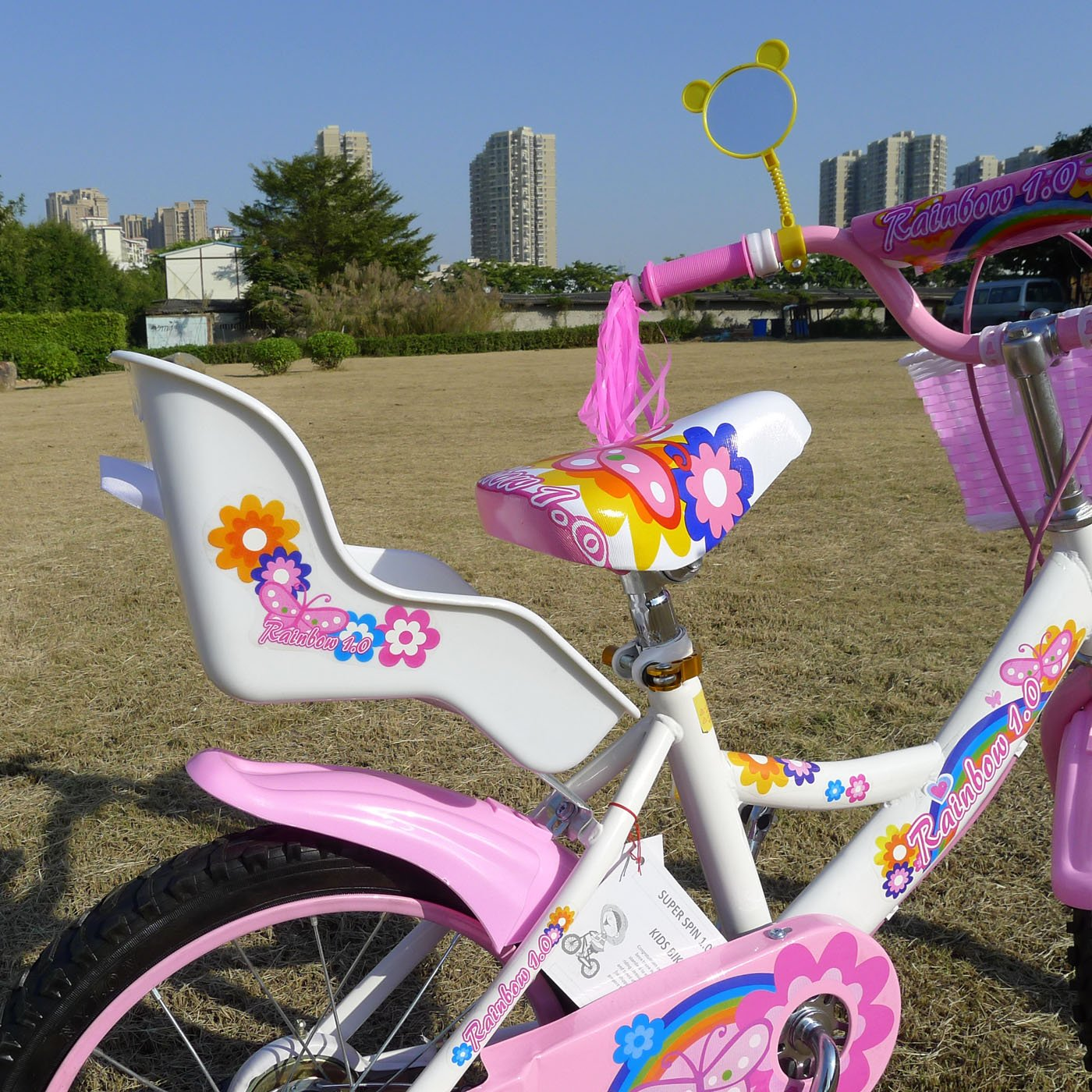 American Phoenix 12-Inch Wheel Girls Bicycle with Seat by American Phoenix (Image #3)