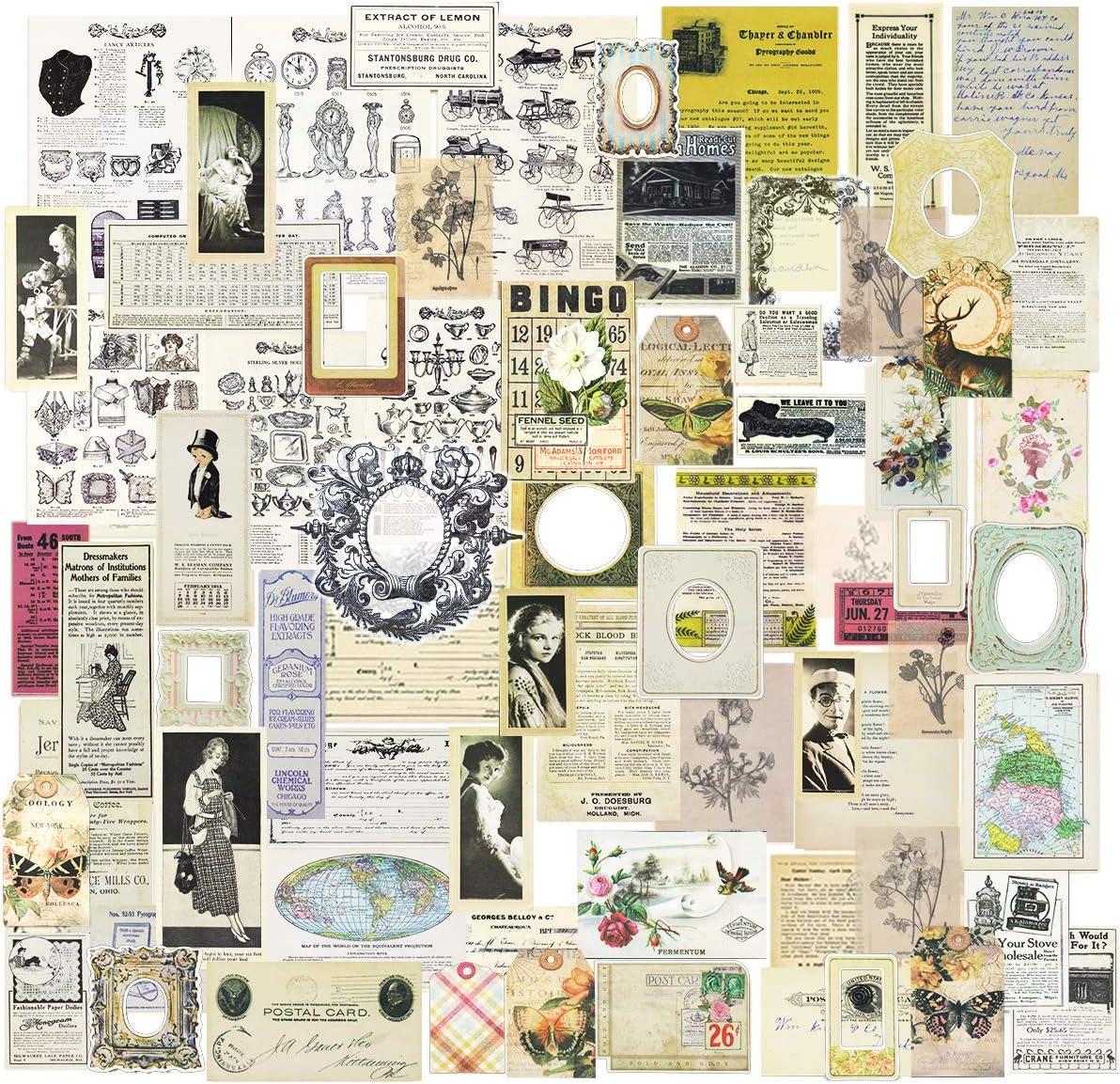 Vintage charms,junk journal embellishments scrapbooking