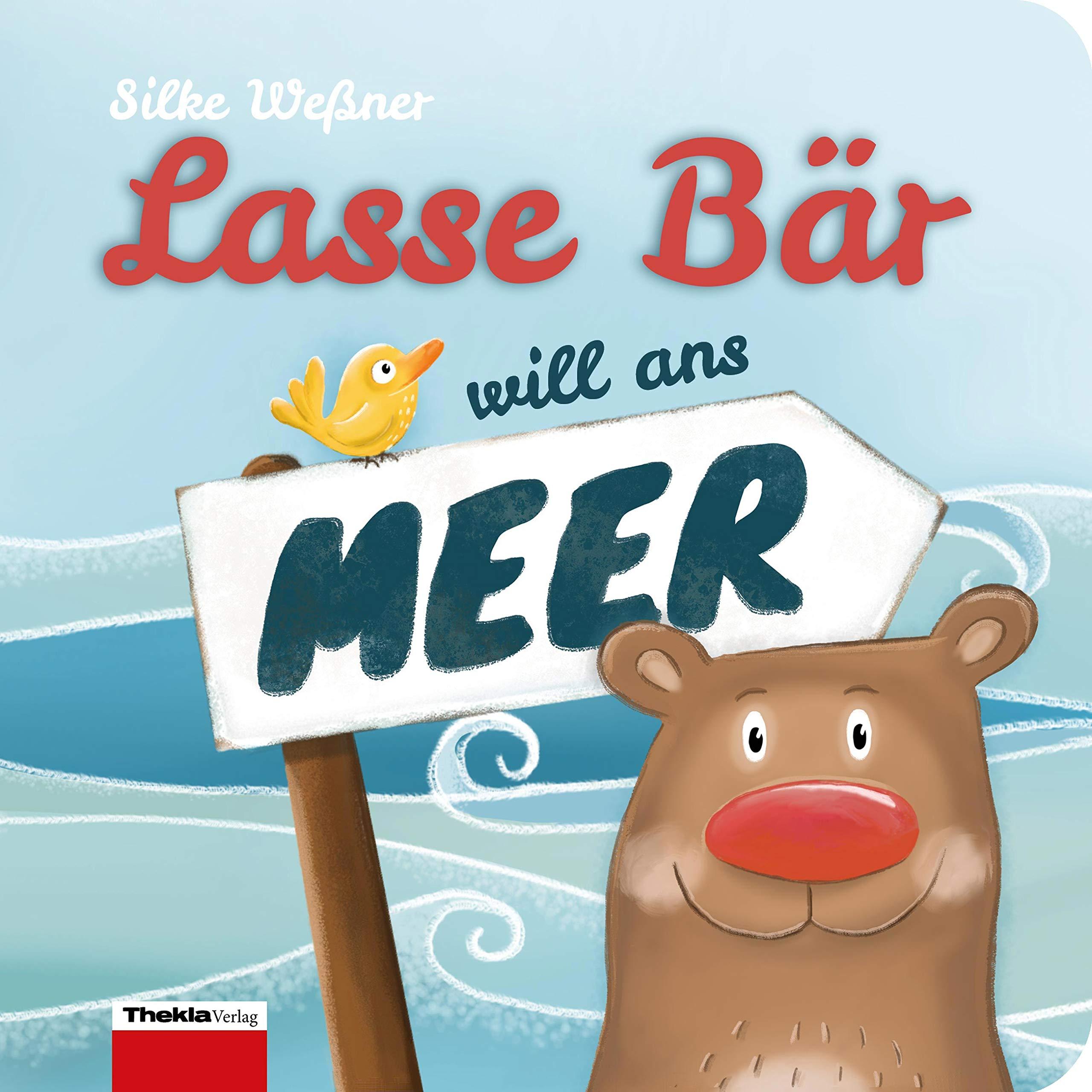 Lasse Bär Will Ans Meer  Ein Mitmachbuch Mit Fühlbaren Fingerspuren