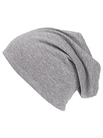 shenky - Berretto sottile e lungo per bambini - grigio chiaro - misura unica d4fd164217cb