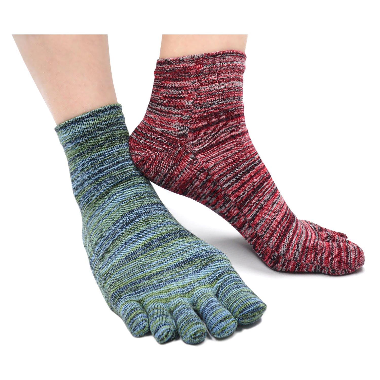 Mogao Caves Calcetines Dedos Hombres Calcetines de Deportes de Algod/ón,Calcetines con cinco 5 dedos Hombre,Calcetines Antideslizantes,Cinco Calcetines de Los Dedos