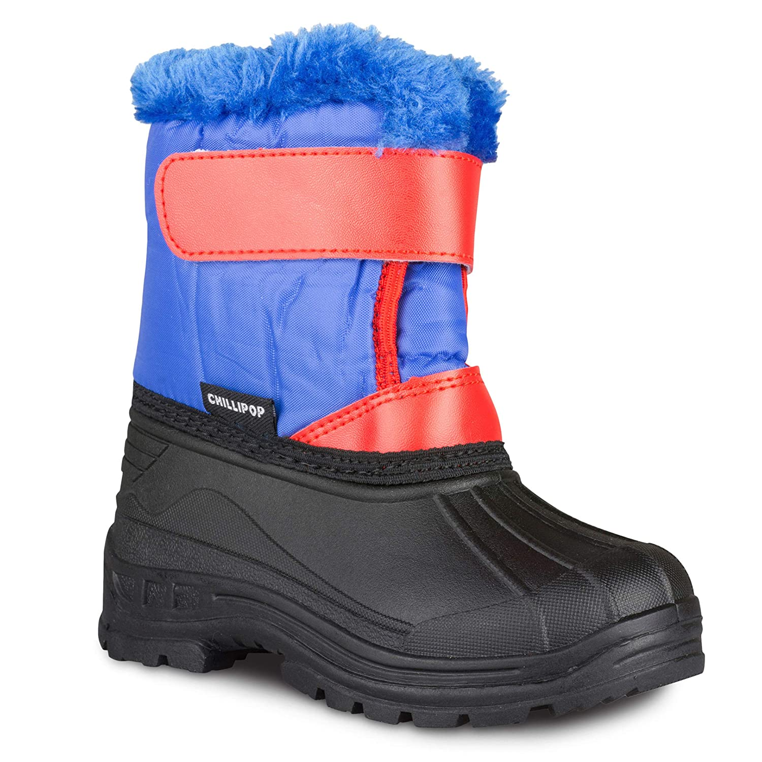 20a1a17d463 Chillipop Colored Insulated Snow Boots for Boys, Girls, Little Kids