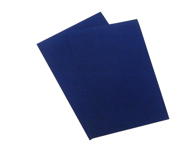 A3 Sticky Back Self Adhesive Sheet Velvet Velour Craft DC FIX Vinyl Sticker Size: A3 (Blue) Konrad Hornschuch AG