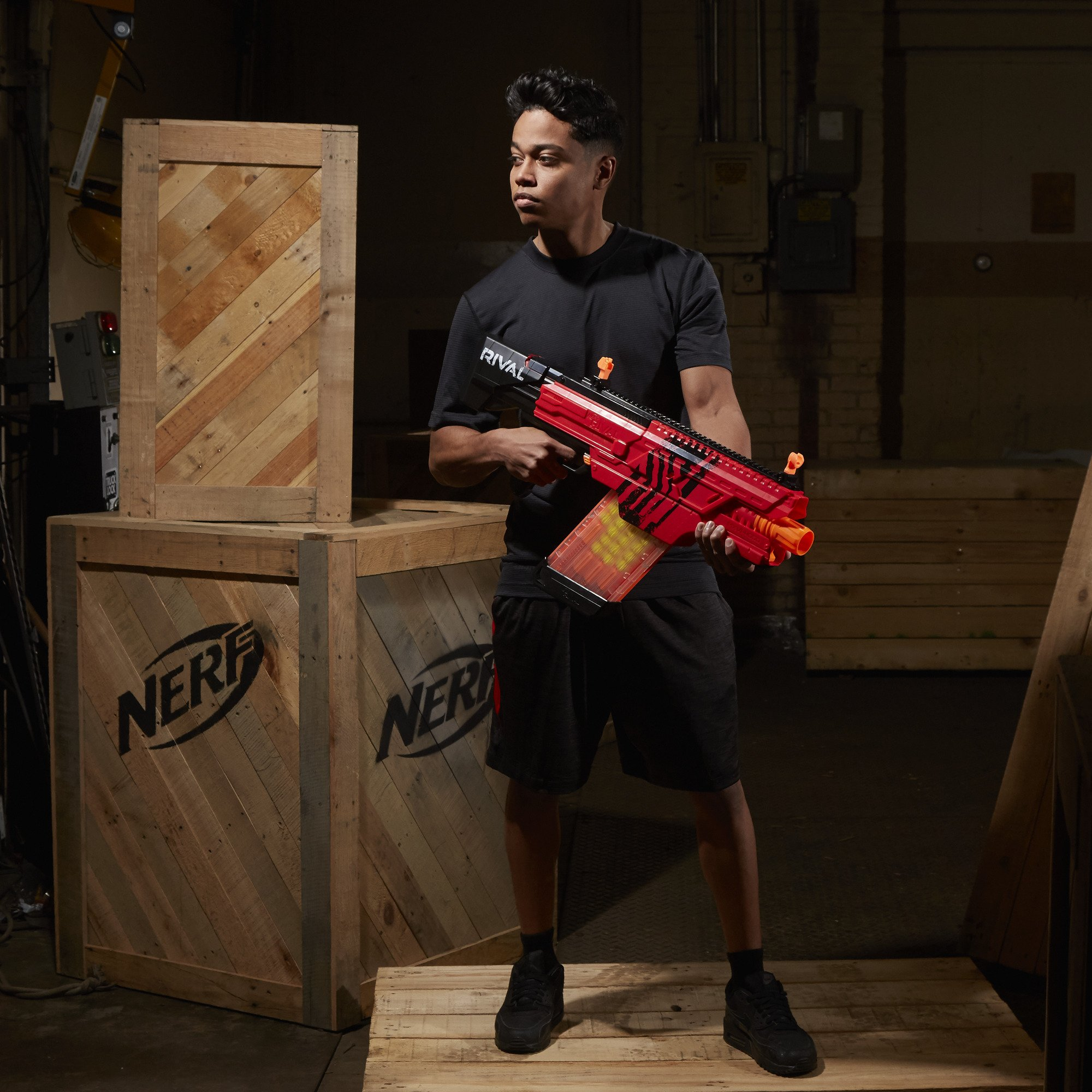 Nerf Rival Khaos MXVI-4000 Blaster (Red) by NERF (Image #7)