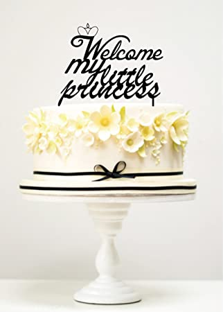 Amazon.com: kiskistonite tartas Bienvenido My Little ...
