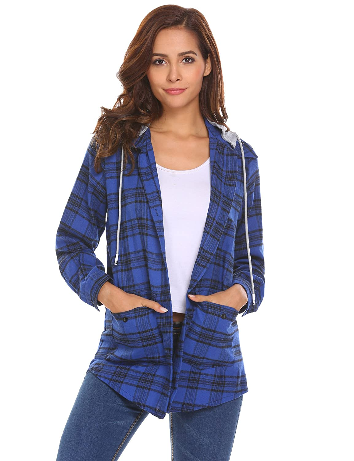 84ac6652281 Top 10 wholesale Womens Button Up Flannel Shirts - Chinabrands.com