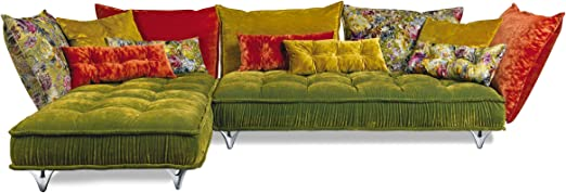 Bretz Ohlinda Z 118li Exhibition Piece Corner Sofa 342x217x88 Cm Including Cushions Amazon Co Uk Garden Outdoors