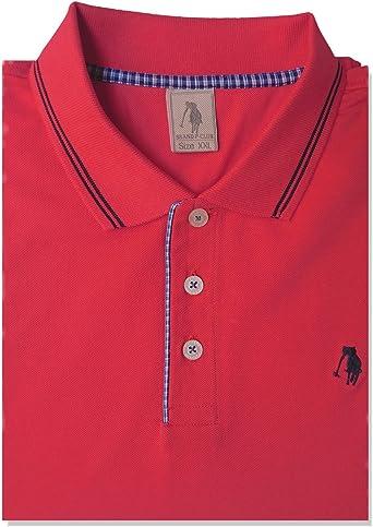 Brand P-Club - Polo Rojo Rojo 3XL: Amazon.es: Ropa y accesorios