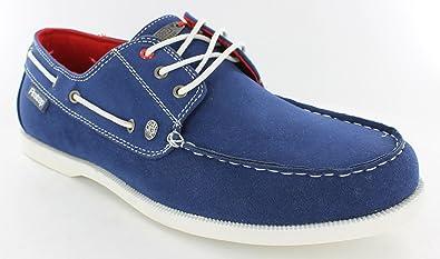32ae77ab9e MENS FIRETRAP DECK SHOES BISMARK ROYAL BLUE (8)  Amazon.co.uk  Shoes ...