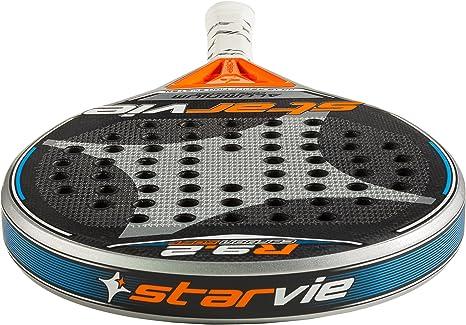 StarVie R 9.2 DRS Soft Pala de pádel, Unisex Adulto, Plateado, 360 ...