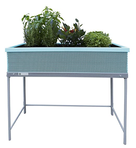 Huerto urbano Green Passion calidad Premium 90x45x80 cm.Color mint ...