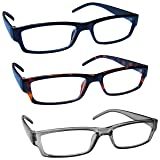 The Reading Glasses Company Black Brown Grey