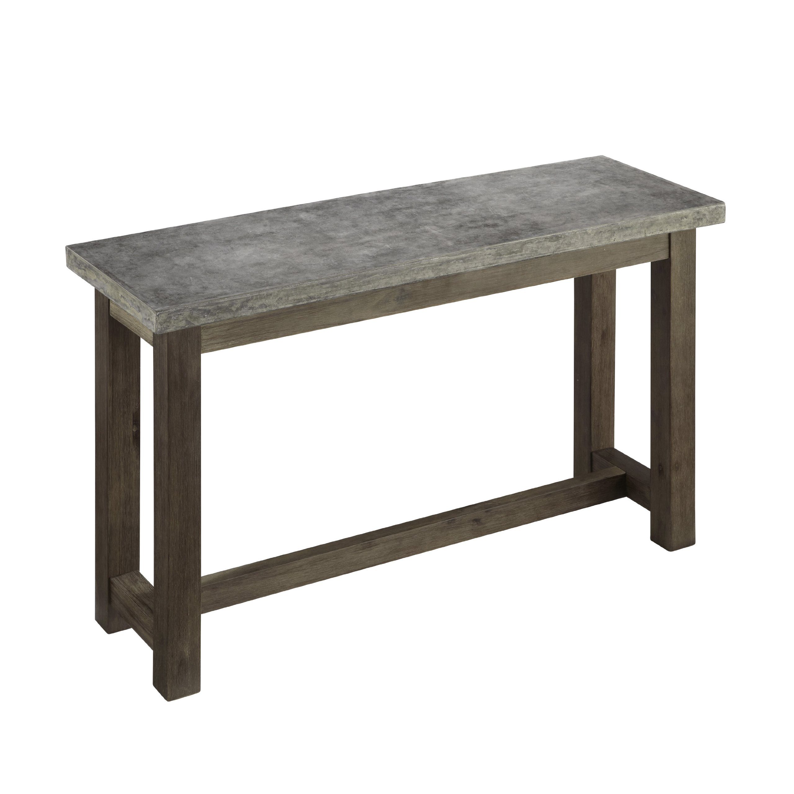 Concrete Chic Brown/Gray Console Table by Home Styles by Home Styles