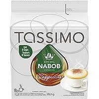 Tassimo Nabob Cappuccino Single Serve T-Discs, 8 Cappuccinos