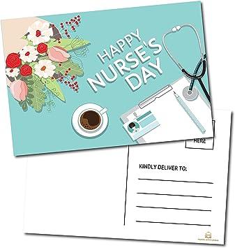 Happy Nurse`s Day / Week Postcards - (50 Pack) 4