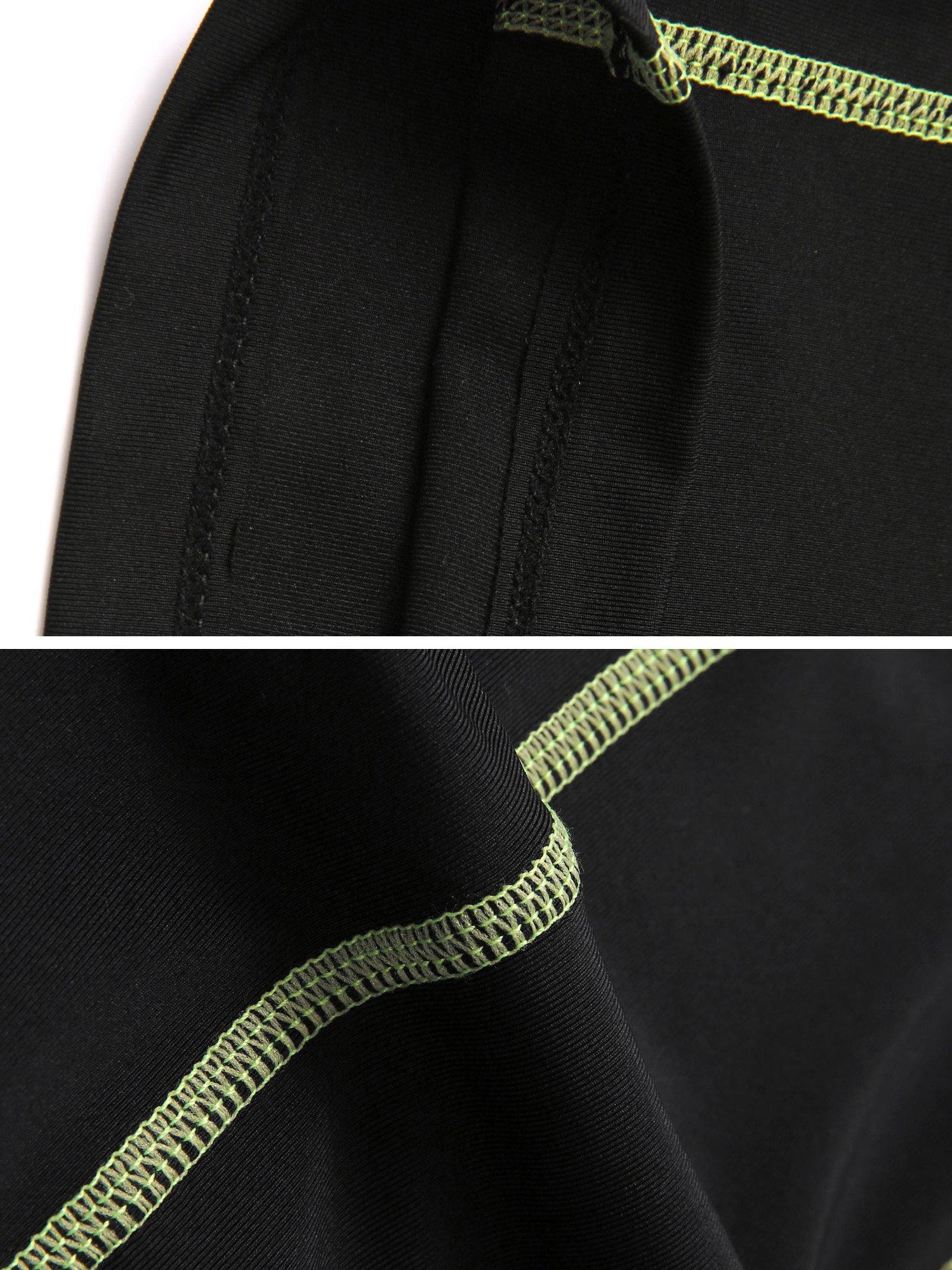 Neleus Men's 3 Pack Compression Short,047,Black,US S,EU M by Neleus (Image #7)