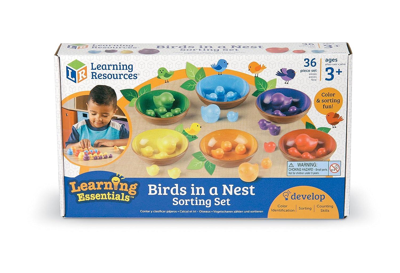 "Learning Resources Sortierset ""Vögel und Nester"" Learning Resources Ltd LER5554"