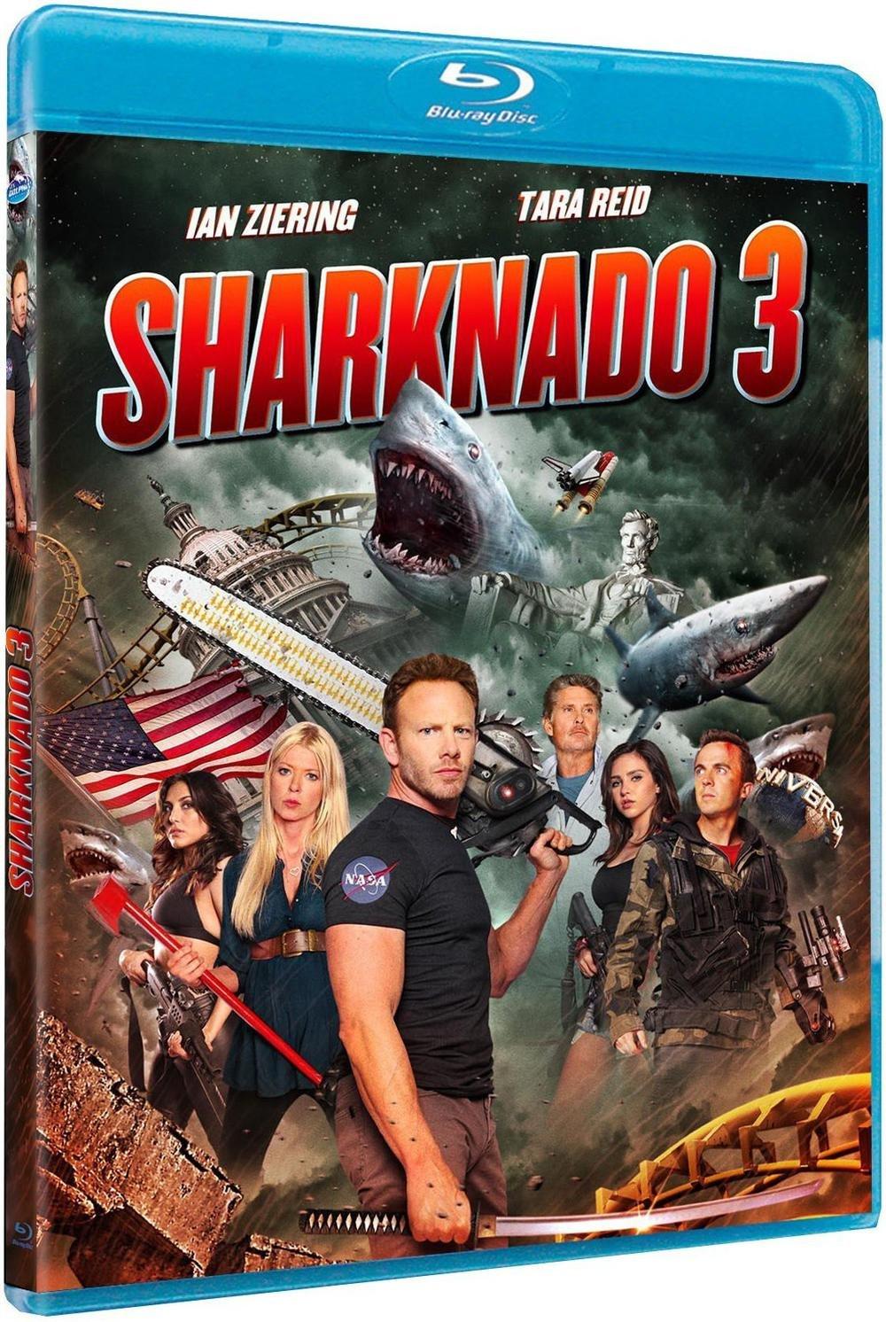 Sharknado 3 [Francia] [Blu-ray]: Amazon.es: Ian Ziering, Tara Reid ...