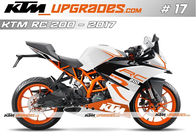 Ktmupgrades Custom Decal Set 17 For Ktm Rc 125200390
