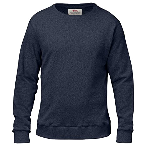 więcej zdjęć Cena hurtowa szczegółowe zdjęcia Fjällräven Men's Jumper 0 - Blue - XL: Amazon.co.uk: Clothing