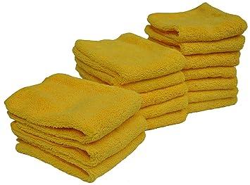 Microfibra Eurow 14 en x 17 en 300 g/m², toallas de limpieza de pelo largo, 15 unidades): Amazon.es: Coche y moto