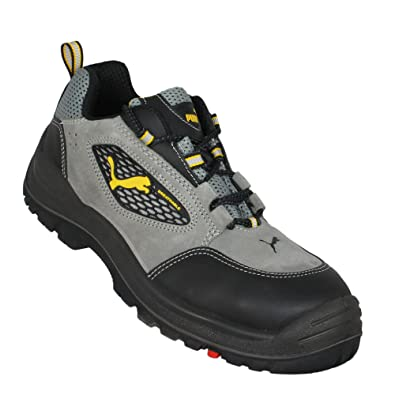 629fc2191c40 Puma Arbeitsschuhe S1 SRC Sicherheitsschuhe Trekkingschuhe Flach Grau   Amazon.de  Schuhe   Handtaschen