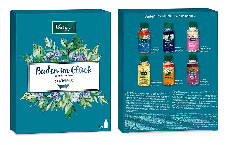 Kneipp Baden Geschenkpackung- Baden im Glück, 1er Pack x (6 x 20ml ...