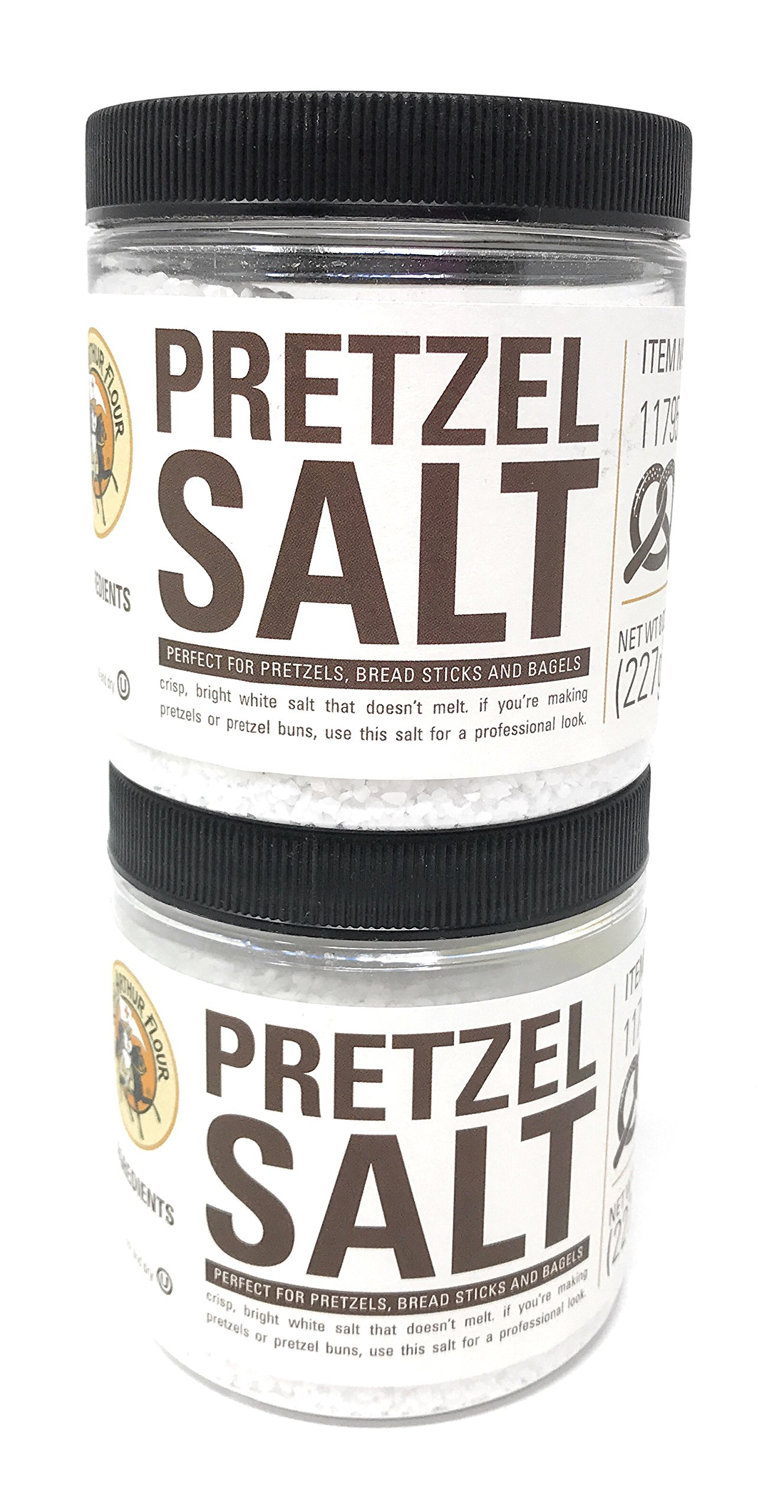 King Arthur Flour Pretzel Salt - 8 oz (Pack of 2) by King Arthur Flour (Image #1)