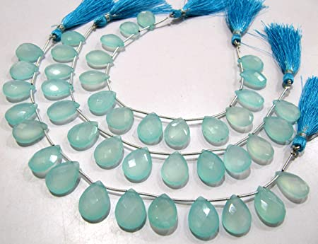 size 8+US Faceted chalcedony