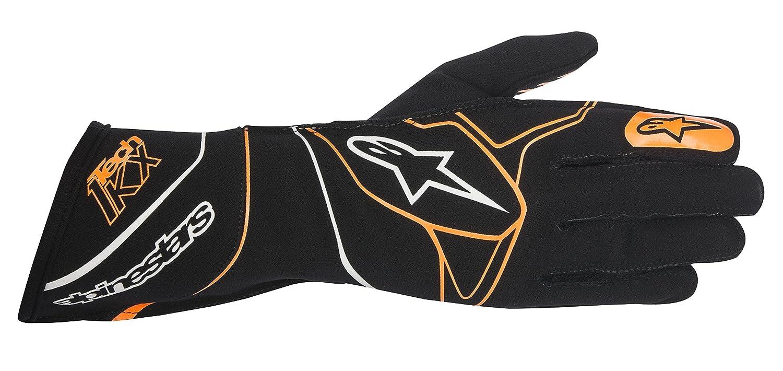 alpinestars(アルパインスターズ) グローブ TECH 1-KX KART GLOVES BLACK/ORANGE FLUO L 3551817-156-L B01N3YRV6U L|BLACK/ORANGE FLUO BLACK/ORANGE FLUO L