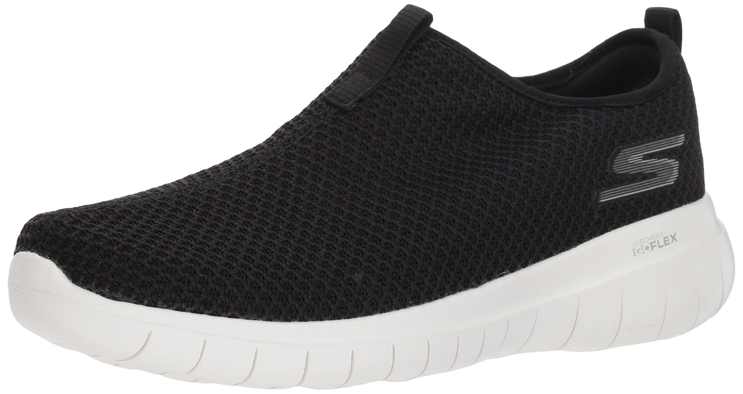 Skechers Performance Women's Go Flex Max-Horizon Sneaker,Black/White,5.5 M US