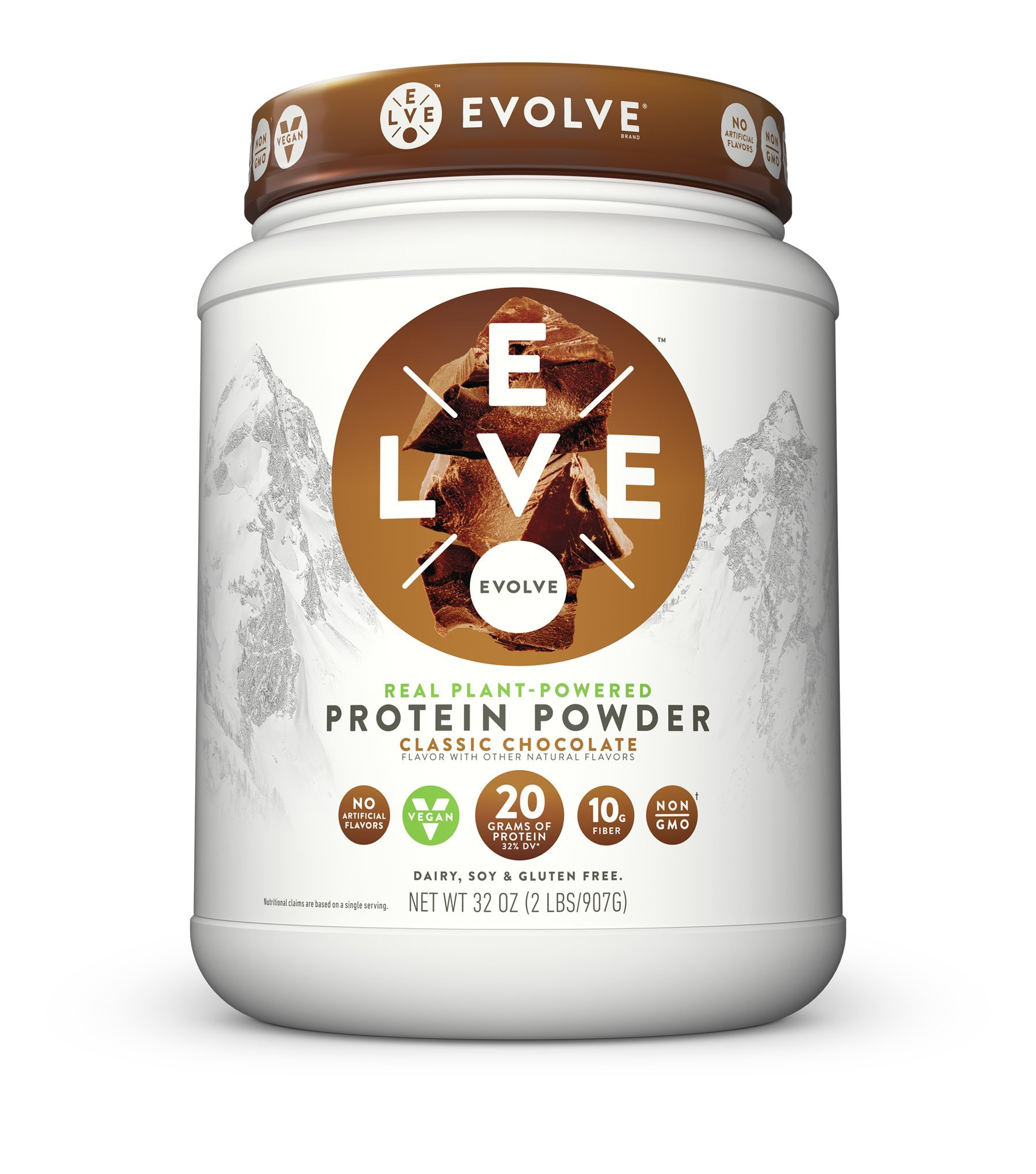 Evolve Protein Powder, Classic Chocolate, 20g Protein, 2 Pound by CytoSport