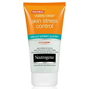 Neutrogena - Visibly Clear Skin - Stress Control Nettoyant Exfoliant - Tube 150 ml